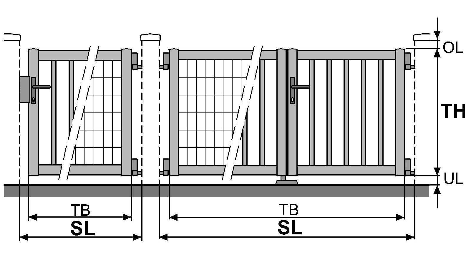 Türen tore  Informationen zu Brix Gitter Türen & Tore
