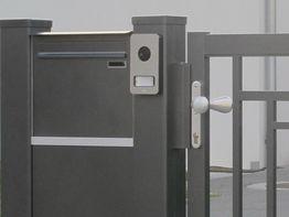 """Postkasten """"Säulenbox"""""""