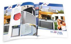 Katalog Alu Zäune und Tore