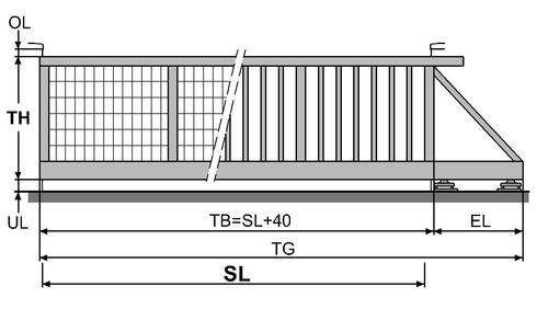 portillons portails brix zaun tor gmbh. Black Bedroom Furniture Sets. Home Design Ideas