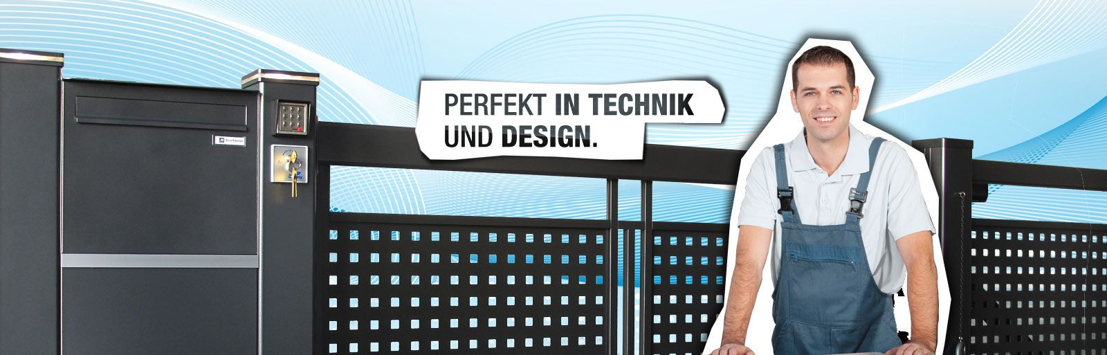 HEADER perfekt in technik DE