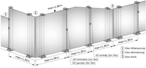 technische informationen f r brix alu sichtschutz. Black Bedroom Furniture Sets. Home Design Ideas