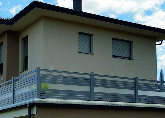 Alu Geländer & Balkone