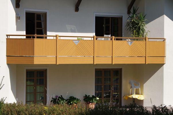 Latten-Füllung Geländer Vertikal und Diagonal