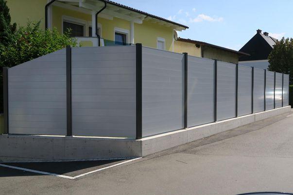 Sichtschutz-System Staketto150 - Steher in alternativer Farbe