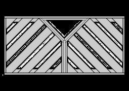 Diagonal mit Ypsilo