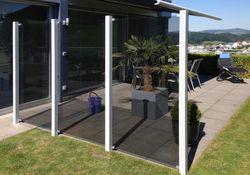 Belátást gátló-mezök rendszere GlassClips