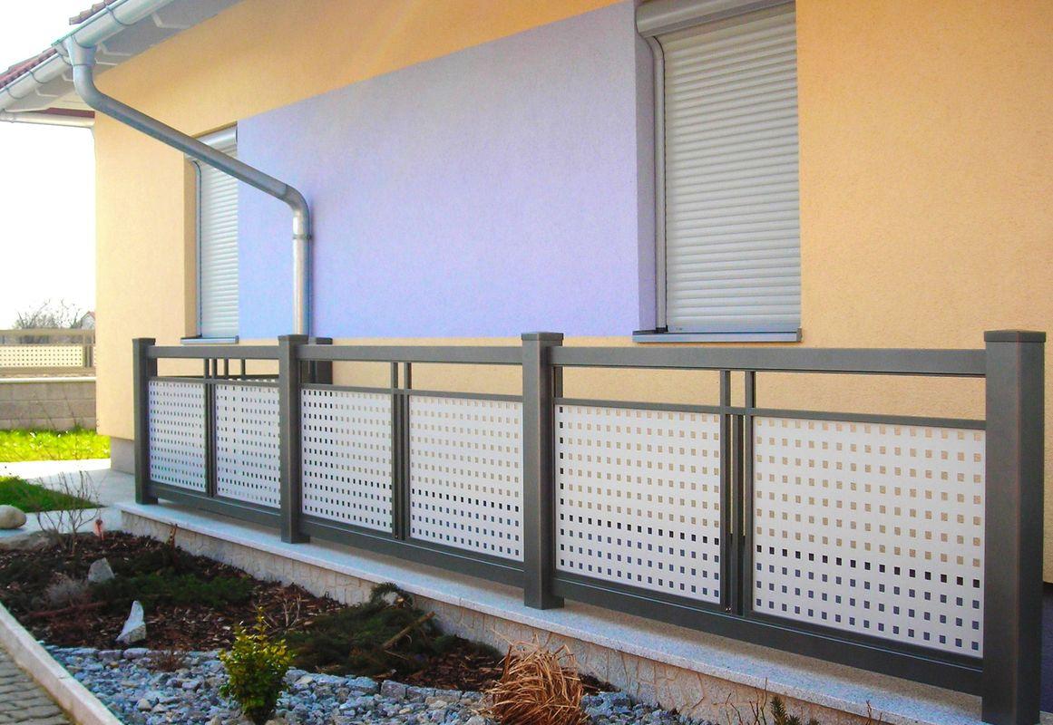 decor perfor e garde corps balcons en alu. Black Bedroom Furniture Sets. Home Design Ideas