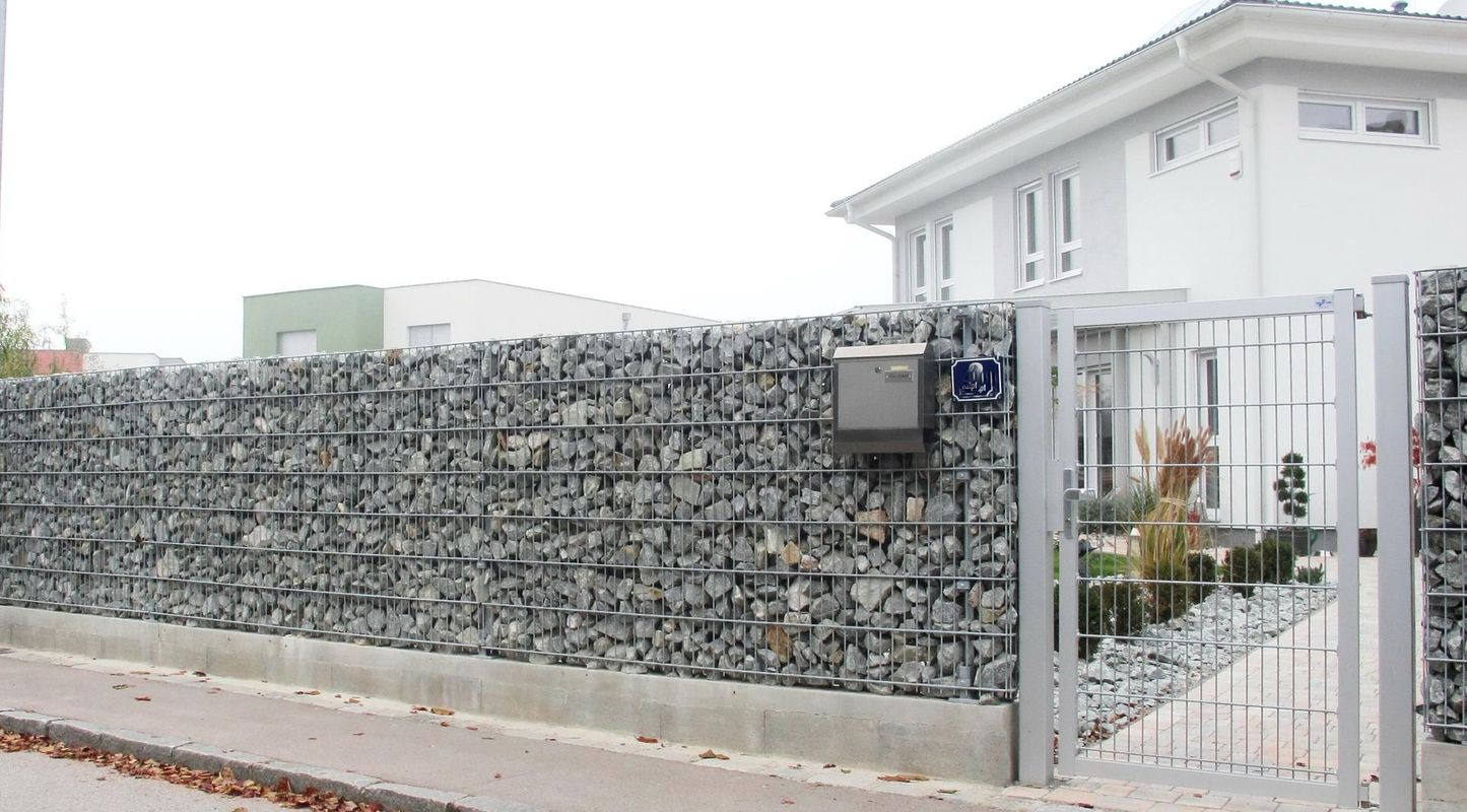 cl tures gabions portails cl tures grillag s. Black Bedroom Furniture Sets. Home Design Ideas