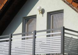 Staketto-Horizontal Balkon