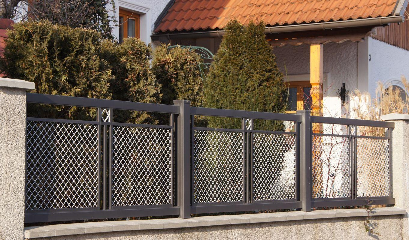luxus zaunfelder metall einzigartige ideen zum sichtschutz. Black Bedroom Furniture Sets. Home Design Ideas