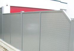 Sichtschutzfelder Flat-Design