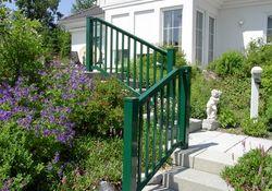 Staketen Geländer für Treppe