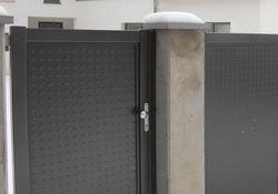 Flat-Design Tore Noppenblech