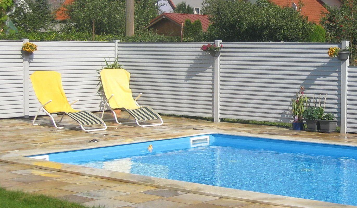 Lamello Blocco Zaun Lamello Blocco Zaun Sichtschutz Felder Ohne Abstand Für  Poolumzäunung.