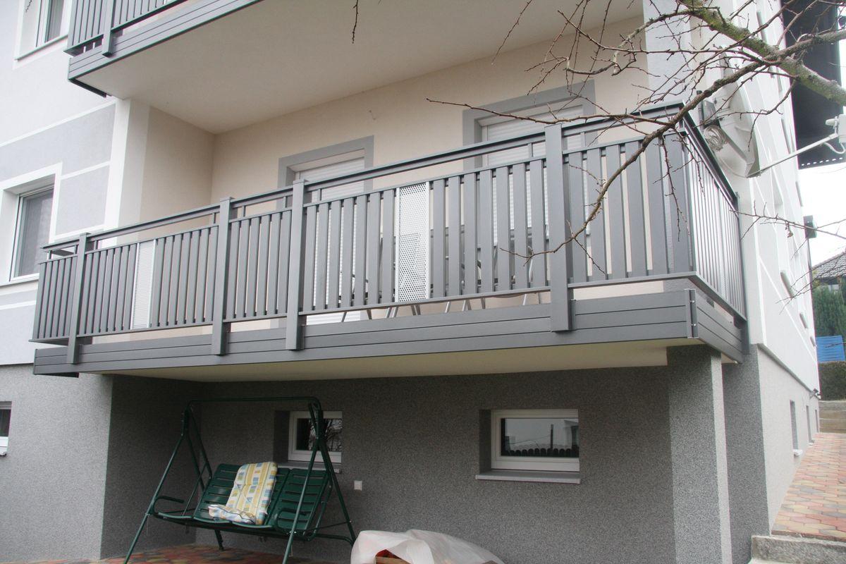 Brix latten f llung alu gel nder u erst vielseitig - Habillage balcon ...