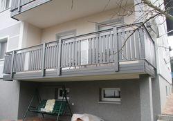 Latten-Füllung Geländer Vertikal