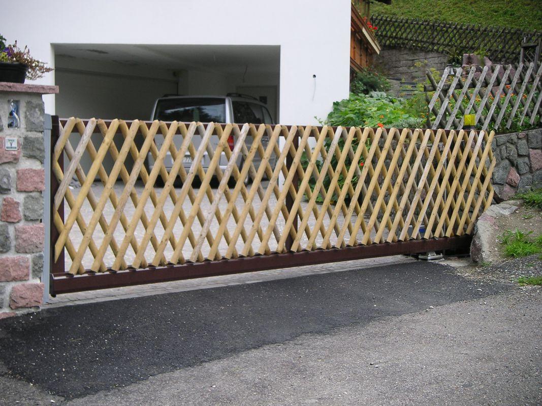 Brix Rahmen Alu-Tore, für individuelle Befüllungen - Brix Zäune ...