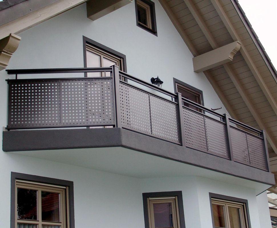 Brix Flat Design Alu Gelander Mit Individuellen Fullungen Brix