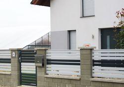 Zaun & Tor Latten-Füllung Horizontal