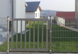 Zaunbau-Gehtür mit Stäben
