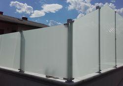 Schutzfeld-System Glass Clips