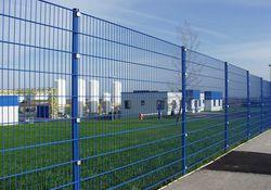 Draht-Gitter-Zaun für Objektbereich