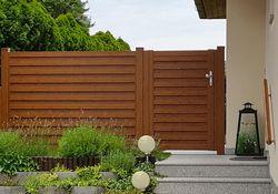 Listello Tür und Zaun