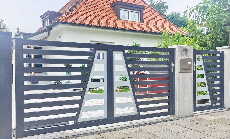 Trap brix portails cl tures en aluminium - Montee trap ...
