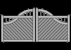Atlantic-Füllungsart Diagonal