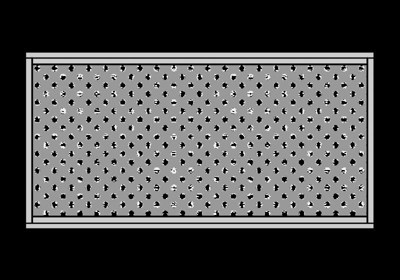 Favorito Flat-Design - Brix cancelli & recinzioni in alluminio QD04