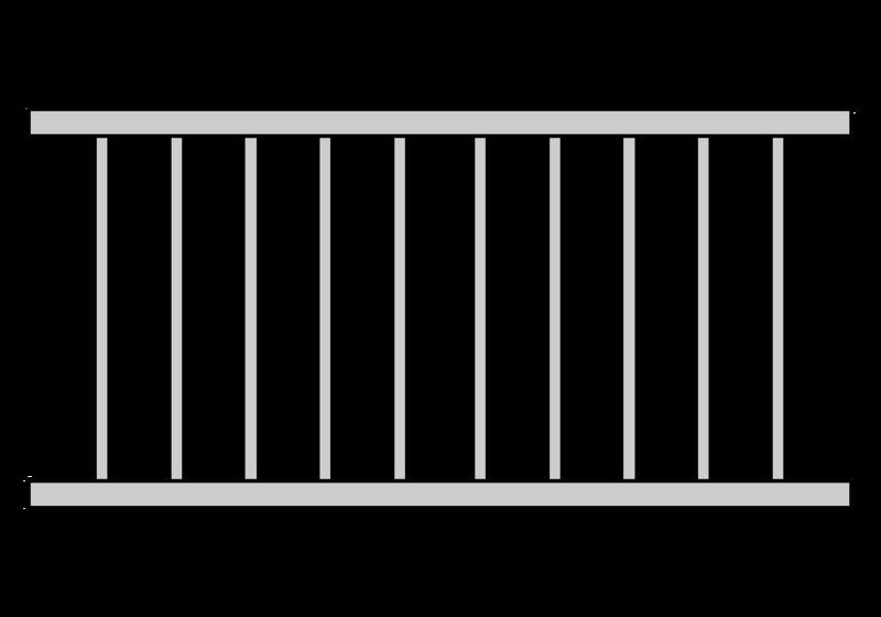 Barreaudages garde corps balcons en alu - Garde corps transparent ...