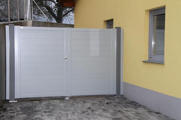 Pare-vue Staketto150 - pour portail 2 vantaux