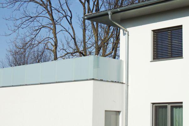 Glass-Clips Geländer -
